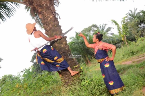 Village-Themed Pre-wedding Photos
