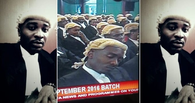 Nigerian Lawyer Mocks Himself For Disgracing His Friends And Family By Sleeping On National TV