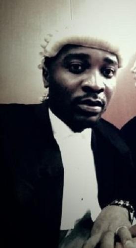 Nigerian Lawyer Sleeping