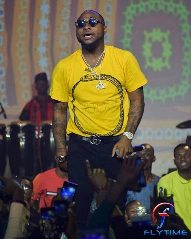 Wizkid performed FIA