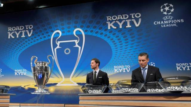 99157996 draw - UCL Last 16 Draws: Chelsea To Play Barcelona (See Full List)