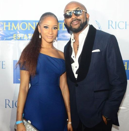 Banky and susu step out - Banky W And His Lovely Wife, Adesua, Step Out Looking Fabulous.