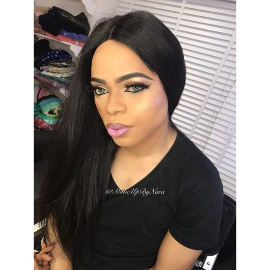 Bob - Bobrisky Comes For Mc Galaxy For Breaking Him And Jacob Apart, Shares Screenshots Of Their Chats.