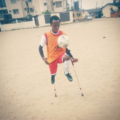 Physically Challenged Nigerian Man