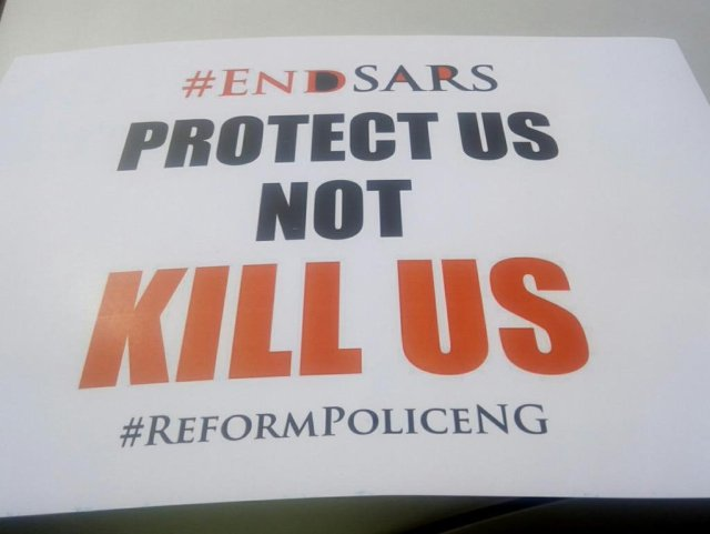 EndSARS 1 - See Photos From The #EndSARS Nationwide Protest