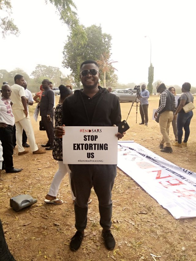 EndSARS 11 - See Photos From The #EndSARS Nationwide Protest