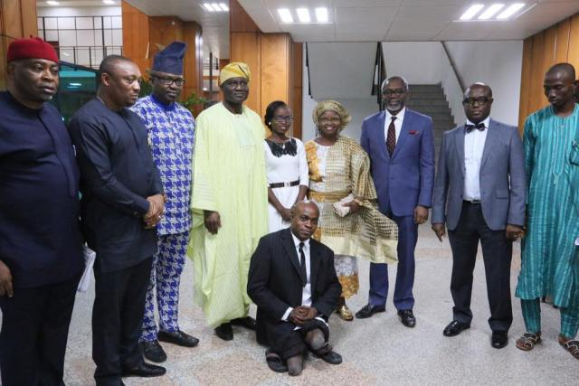 Former Street Beggar Turned Lawyer - House Of Reps Honour Former Street Beggar Turned Lawyer (Photos)