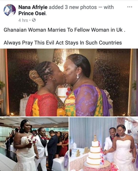 Ghanaian women wed 03 - Ghanaian Lesbians wed — Photos From The Wedding Ceremony