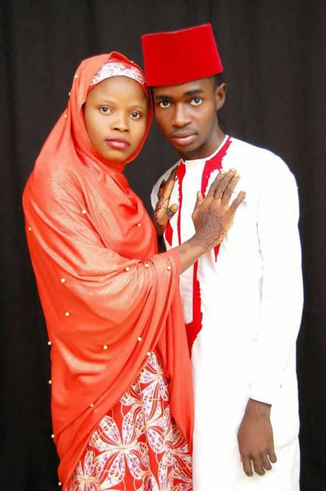 Hausa young couple - Viral Photos Of A Young Hausa Couple.