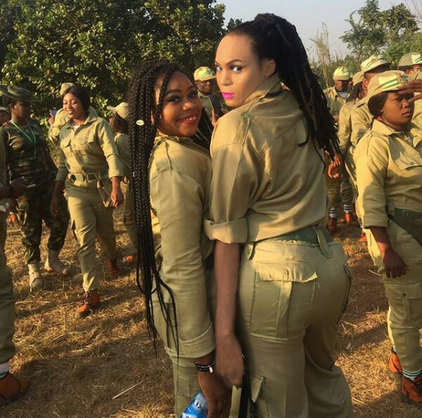 IMG 20171205 141647 149 - Cross dresser is the main centre of attention at NYSC Orientation camp (new photos)