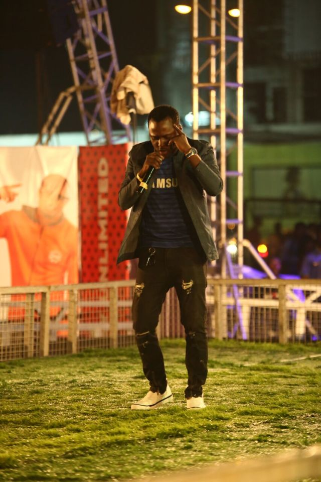 IMG 5643 preview - Davido, Runtown, Mr. P, Niniola, Oritsefemi, 9ice, Olu Maintain, Falz & more Shutdown Barbeach at the Merrybet Celebrity Fans Challenge Event