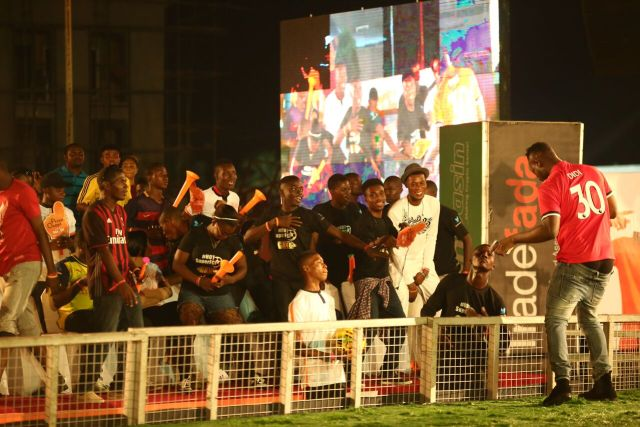 IMG 5658 preview - Davido, Runtown, Mr. P, Niniola, Oritsefemi, 9ice, Olu Maintain, Falz & more Shutdown Barbeach at the Merrybet Celebrity Fans Challenge Event