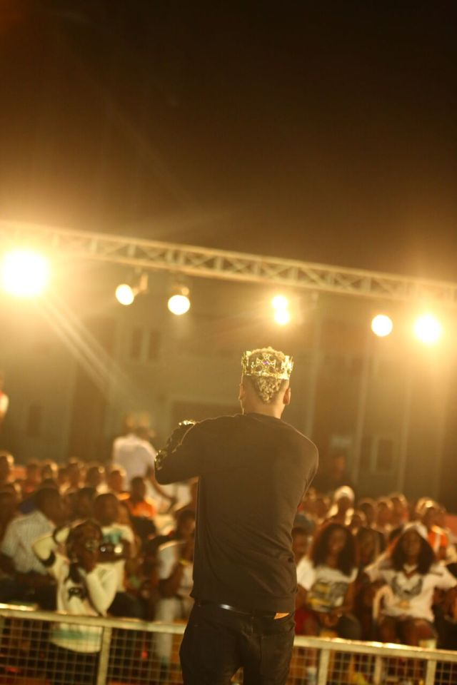 IMG 5688 preview - Davido, Runtown, Mr. P, Niniola, Oritsefemi, 9ice, Olu Maintain, Falz & more Shutdown Barbeach at the Merrybet Celebrity Fans Challenge Event