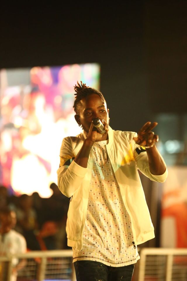 IMG 5704 preview - Davido, Runtown, Mr. P, Niniola, Oritsefemi, 9ice, Olu Maintain, Falz & more Shutdown Barbeach at the Merrybet Celebrity Fans Challenge Event