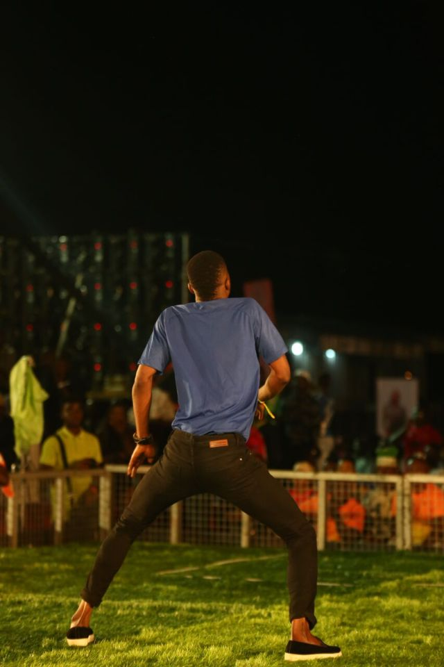 IMG 5892 preview - Davido, Runtown, Mr. P, Niniola, Oritsefemi, 9ice, Olu Maintain, Falz & more Shutdown Barbeach at the Merrybet Celebrity Fans Challenge Event