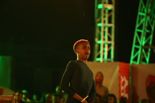 IMG 5927 preview - Davido, Runtown, Mr. P, Niniola, Oritsefemi, 9ice, Olu Maintain, Falz & more Shutdown Barbeach at the Merrybet Celebrity Fans Challenge Event