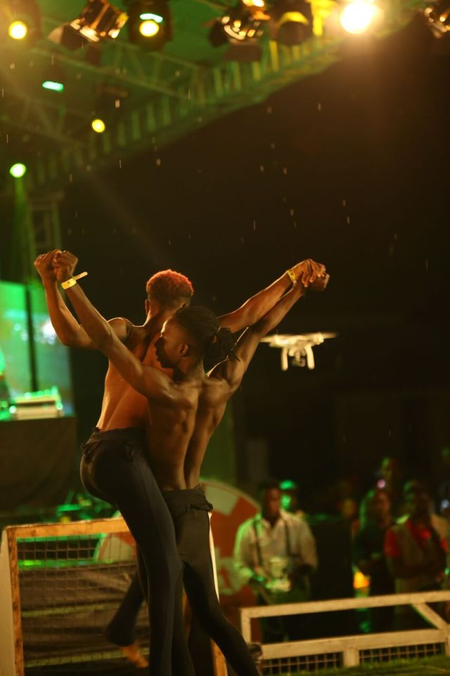 IMG 5936 preview - Davido, Runtown, Mr. P, Niniola, Oritsefemi, 9ice, Olu Maintain, Falz & more Shutdown Barbeach at the Merrybet Celebrity Fans Challenge Event