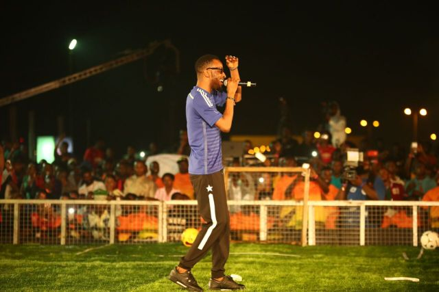 IMG 6139 preview - Davido, Runtown, Mr. P, Niniola, Oritsefemi, 9ice, Olu Maintain, Falz & more Shutdown Barbeach at the Merrybet Celebrity Fans Challenge Event