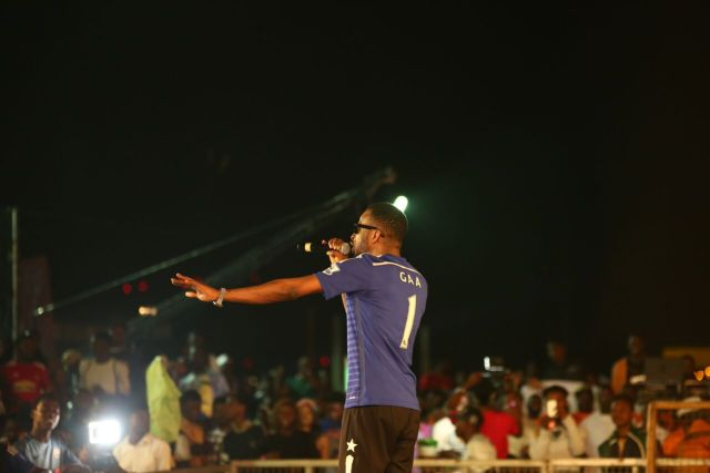 IMG 6147 preview - Davido, Runtown, Mr. P, Niniola, Oritsefemi, 9ice, Olu Maintain, Falz & more Shutdown Barbeach at the Merrybet Celebrity Fans Challenge Event