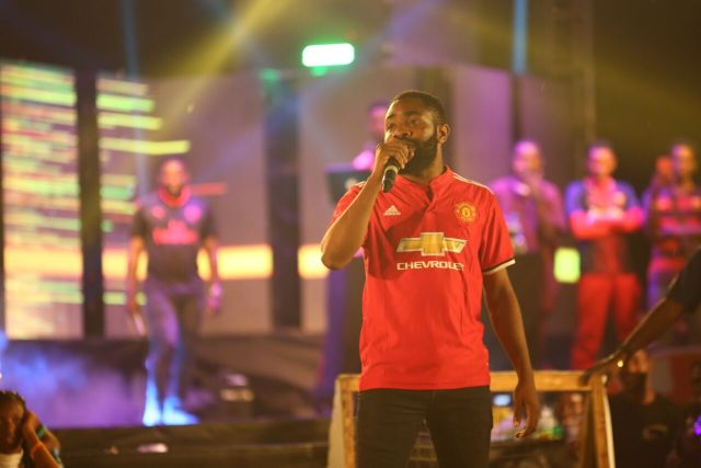 IMG 6259 preview - Davido, Runtown, Mr. P, Niniola, Oritsefemi, 9ice, Olu Maintain, Falz & more Shutdown Barbeach at the Merrybet Celebrity Fans Challenge Event