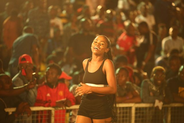 IMG 6341 preview - Davido, Runtown, Mr. P, Niniola, Oritsefemi, 9ice, Olu Maintain, Falz & more Shutdown Barbeach at the Merrybet Celebrity Fans Challenge Event