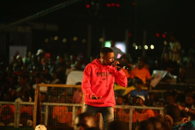 IMG 6347 preview - Davido, Runtown, Mr. P, Niniola, Oritsefemi, 9ice, Olu Maintain, Falz & more Shutdown Barbeach at the Merrybet Celebrity Fans Challenge Event