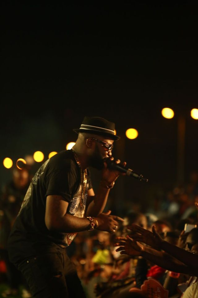 IMG 7546 preview - Davido, Runtown, Mr. P, Niniola, Oritsefemi, 9ice, Olu Maintain, Falz & more Shutdown Barbeach at the Merrybet Celebrity Fans Challenge Event