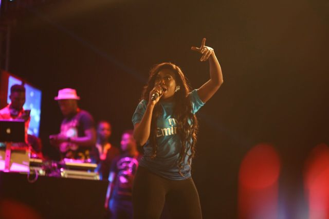 IMG 7574 preview - Davido, Runtown, Mr. P, Niniola, Oritsefemi, 9ice, Olu Maintain, Falz & more Shutdown Barbeach at the Merrybet Celebrity Fans Challenge Event