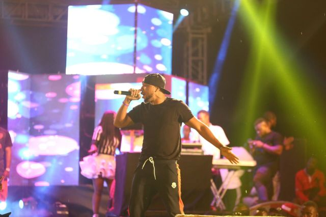 IMG 7614 preview - Davido, Runtown, Mr. P, Niniola, Oritsefemi, 9ice, Olu Maintain, Falz & more Shutdown Barbeach at the Merrybet Celebrity Fans Challenge Event