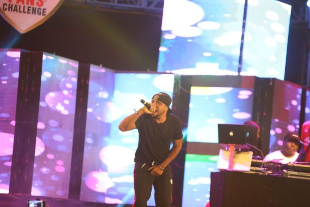 IMG 7617 preview - Davido, Runtown, Mr. P, Niniola, Oritsefemi, 9ice, Olu Maintain, Falz & more Shutdown Barbeach at the Merrybet Celebrity Fans Challenge Event