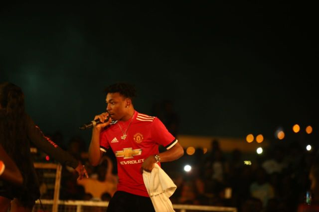 IMG 7673 preview - Davido, Runtown, Mr. P, Niniola, Oritsefemi, 9ice, Olu Maintain, Falz & more Shutdown Barbeach at the Merrybet Celebrity Fans Challenge Event