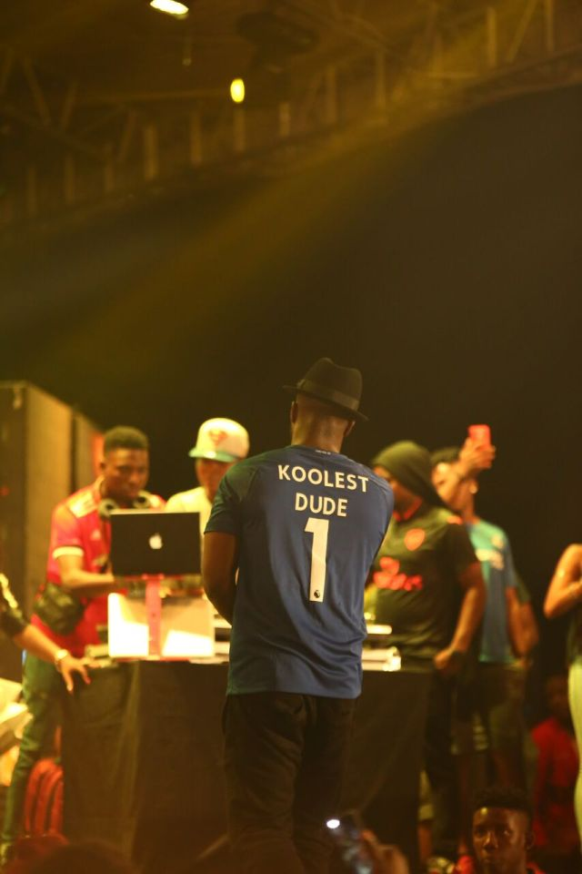 IMG 7699 preview - Davido, Runtown, Mr. P, Niniola, Oritsefemi, 9ice, Olu Maintain, Falz & more Shutdown Barbeach at the Merrybet Celebrity Fans Challenge Event