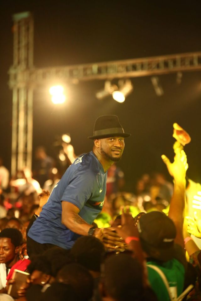 IMG 7716 preview - Davido, Runtown, Mr. P, Niniola, Oritsefemi, 9ice, Olu Maintain, Falz & more Shutdown Barbeach at the Merrybet Celebrity Fans Challenge Event