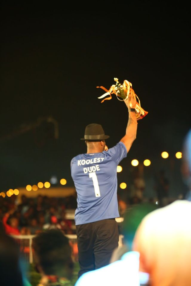 IMG 7719 preview - Davido, Runtown, Mr. P, Niniola, Oritsefemi, 9ice, Olu Maintain, Falz & more Shutdown Barbeach at the Merrybet Celebrity Fans Challenge Event