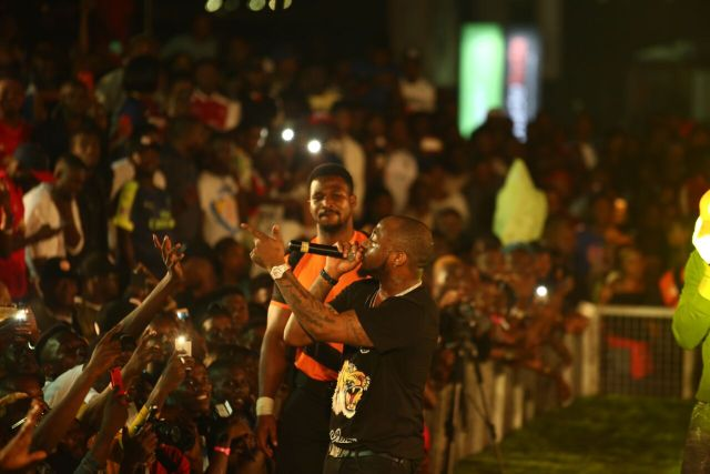 IMG 7758 preview - Davido, Runtown, Mr. P, Niniola, Oritsefemi, 9ice, Olu Maintain, Falz & more Shutdown Barbeach at the Merrybet Celebrity Fans Challenge Event