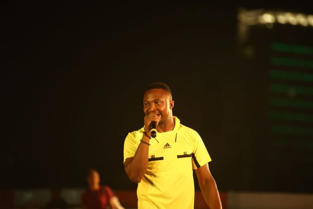 MCFC1 - Davido, Runtown, Mr. P, Niniola, Oritsefemi, 9ice, Olu Maintain, Falz & more Shutdown Barbeach at the Merrybet Celebrity Fans Challenge Event