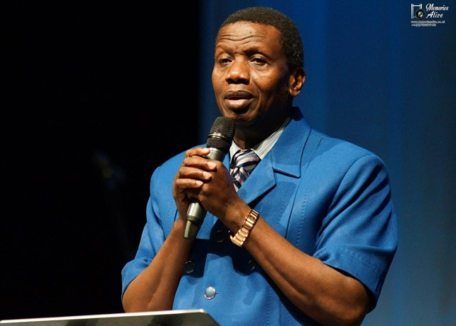 "Pastor E A Adeboye2 - ""If you buy a car with a money you didn't earn lawfully, you'll be riding in a moving coffin"" — Pastor Adeboye"