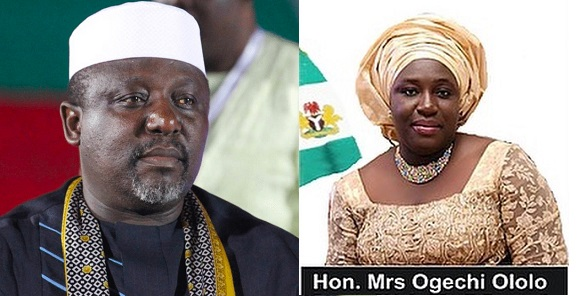 Governor Okorocha swears