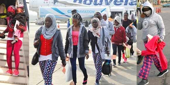 Libya Returnees Test Positive