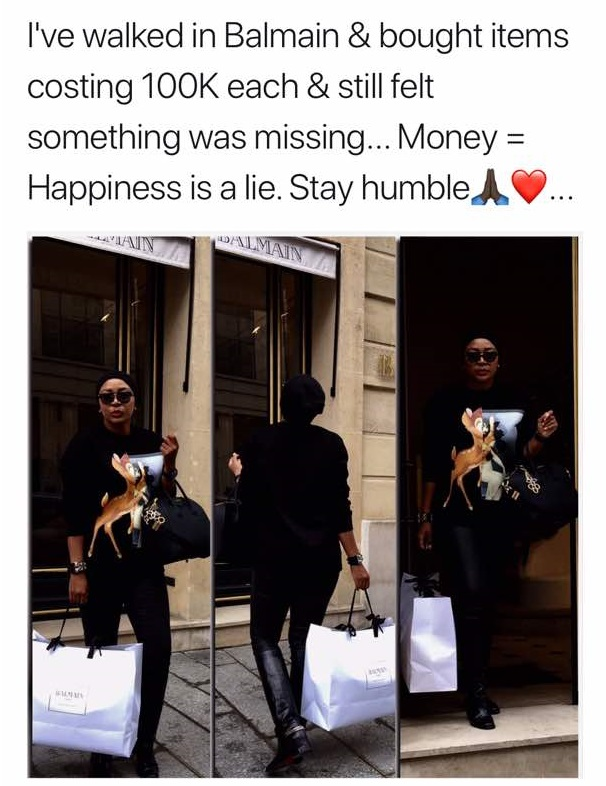WhatsApp Image 2017 12 04 at 8.12.51 AM 2 - South African Lady Shows Off Her Luxurious Lifestyle To Prove It Doesn't Equate Happiness (Photos)