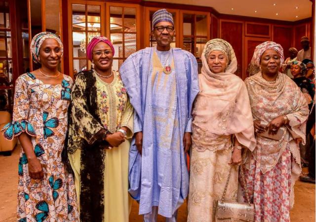 Buhari's surprise Birthday get together