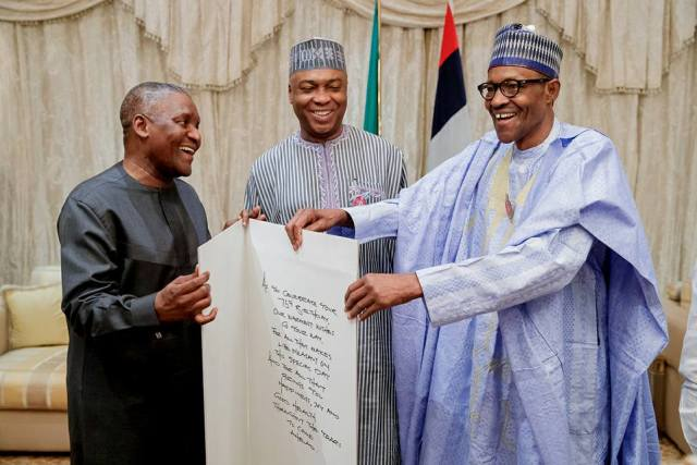 buhari surprise birthday party 06 - Photos And Video From Buhari's Surprise Birthday Get Together