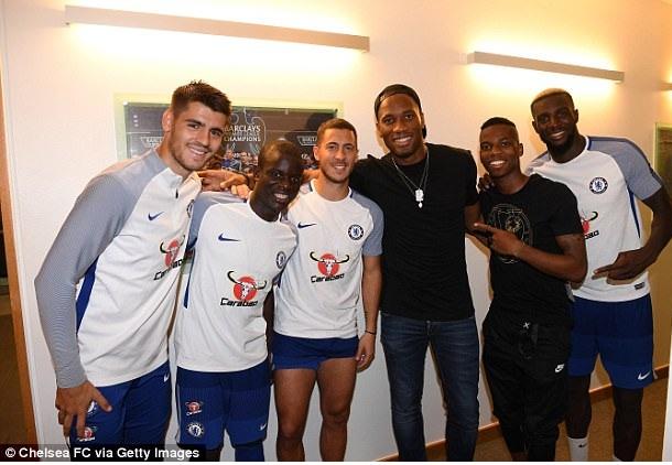 Didier Drogba debuts