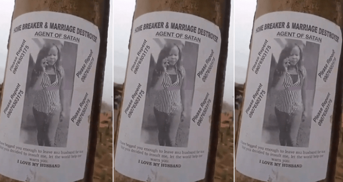 Nigerian Woman Shares Posters