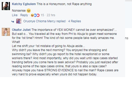 treatment of rape cases