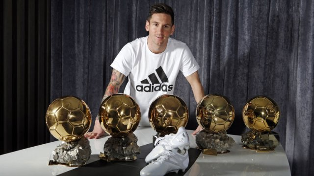 lionel messi ballon dor adidas barcelona 3398649 - Fans Trolls Lionel Messi After Critiano Ronaldo Wins 5th Ballon D'Or