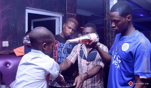 slay boy4 - Nigerian Lady Celebrates Her Little Son's Birthday Party At A Nightclub In Ibadan (Photos)