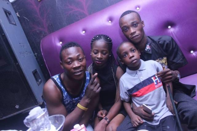 slay boy6 - Lady takes her son to nightclub to celebrate his birthday in Ibadan (Photos)