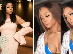 Toke Makinwa's Cleavage-Baring Photos