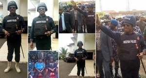 Anambra Governor Willie Obiano Rocks Police Uniform